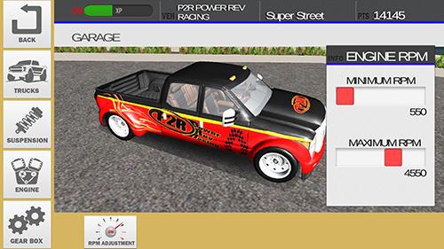 Racing games Diesel drag racing pro for smartphone