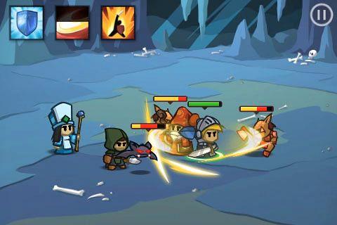 Screenshot Battleheart auf dem iPhone