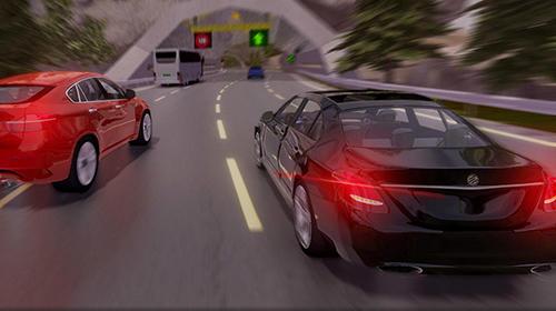 Pov car driving Screenshot