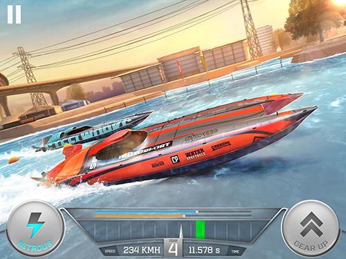 Rennspiele Top boat: Racing simulator 3D für das Smartphone