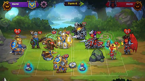 Heroes of magic: Card battle RPG für Android