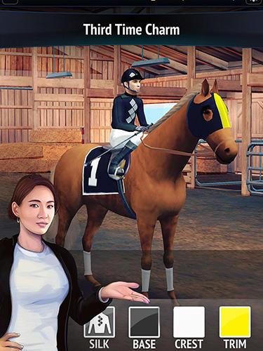 Sportspiele Horse racing manager 2018 für das Smartphone