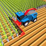 Blocky plow farming harvester 2 icône