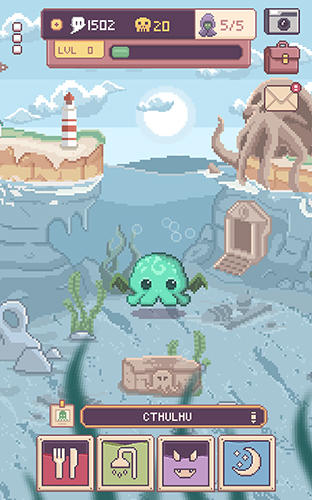 Cthulhu virtual pet 2 capture d'écran
