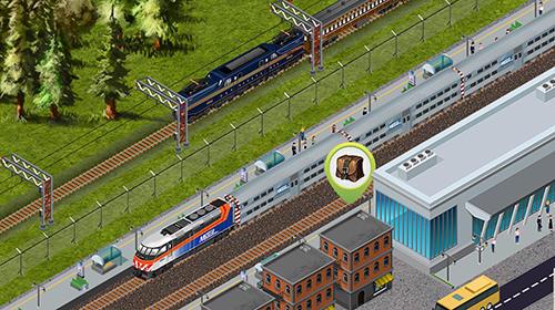 Chicago train: Idle transport tycoon capture d'écran 1