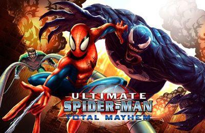 логотип Людина павук. Загальний хаос