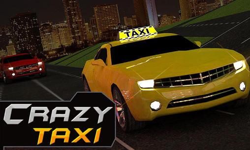Crazy taxi driver: Rush cabbie Symbol