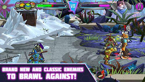 Arcade-Spiele: Lade Teenage Mutant Ninja Turtles: Kraft der Portale auf dein Handy herunter