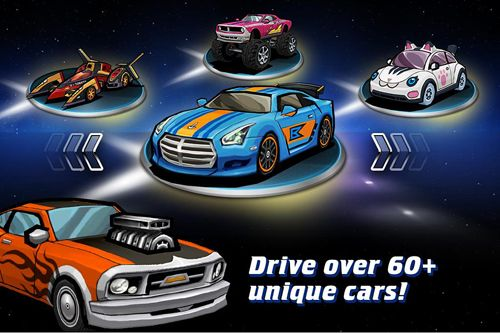 Racing games: download Go! Go! Go!: Racer to your phone