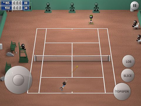 Arcade-Spiele: Lade Strichmännchen Tennis 2015 auf dein Handy herunter