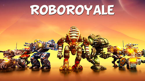 RoboRoyale : Battle royale of war robots captura de tela 1
