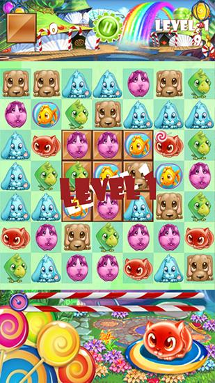 Candy pets для Android