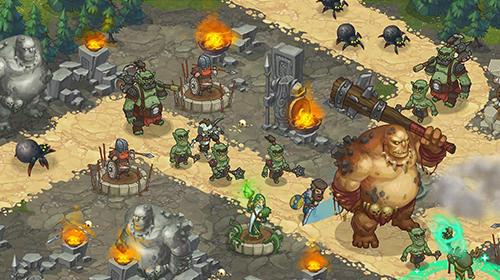 Orcs warriors: Offline tower defense auf Deutsch