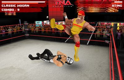 Sports games TNA Wrestling iMPACT in English