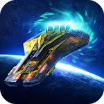 Deep raid: Idle RPG space ship battles Symbol