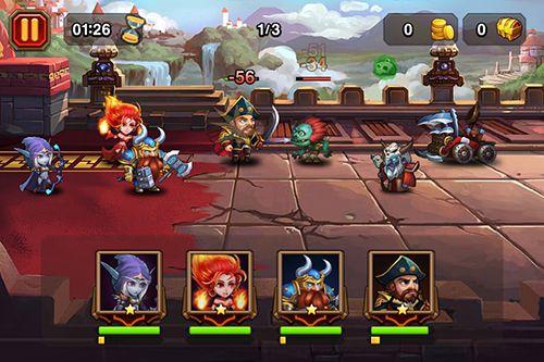 Strategiespiele Heroes Charge auf Deutsch