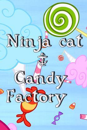 logo Ninjakatze und die Süßigkeitenfabrik