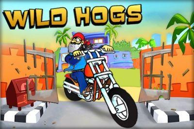 ロゴワイルドオートバイク