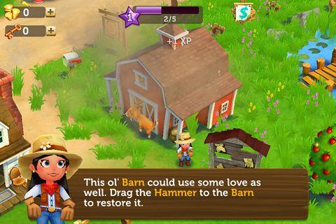 Captura de pantalla Farmville 2: Privacidad rural en iPhone