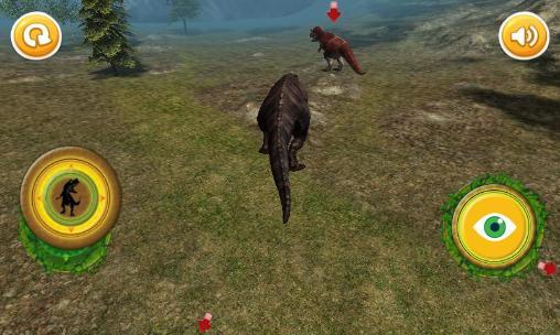 Tiere Jurassic T-Rex: Dinosaur auf Deutsch