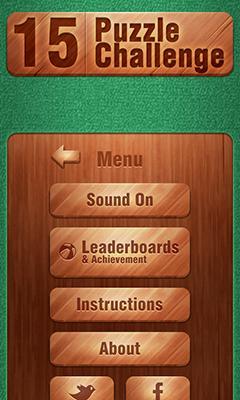 Скриншот 15 Puzzle Challenge на андроид