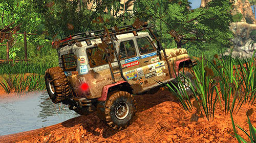 Off road 4X4 jeep racing Xtreme 3D screenshot 3