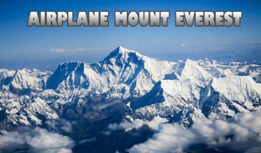 Airplane mount Everest icône
