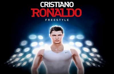 логотип Фристайл футбол с Криштиану Роналду