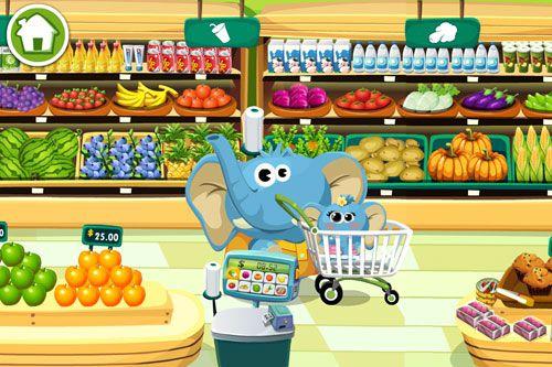 Supermercado del Dr. Panda en español