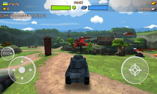 Shooters War toon: Tanks auf Deutsch