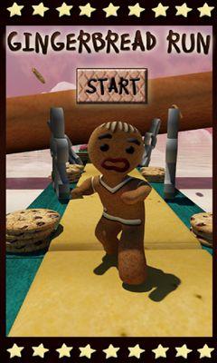 Gingerbread Run Screenshot