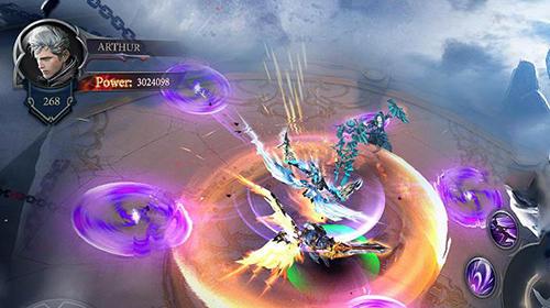 RPG-Spiele: Lade Gepanzerter Gott auf dein Handy herunter