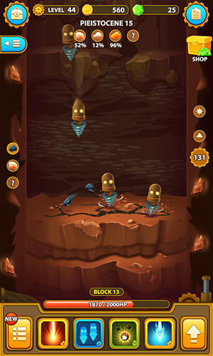 Deep town: Mining factory für Android