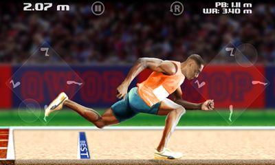 Juegos deportivos QWOP para teléfono inteligente