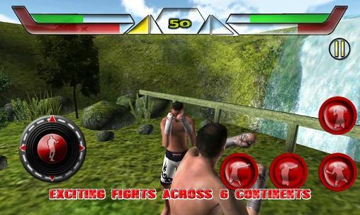 Kampfspiele Boxing street fighter 2015 für das Smartphone