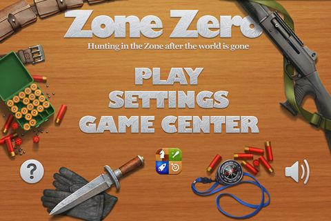 Screenshot Zone Zero on iPhone
