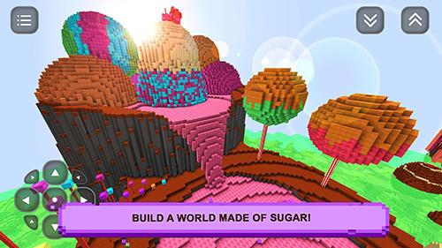 Arcade-Spiele Sugar girls craft: Adventure für das Smartphone