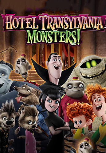Hotel Transylvania: Monsters! Puzzle action game Screenshot