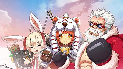 Arcade-Spiele Blustone 2: Anime battle and ARPG clicker game für das Smartphone