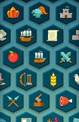 Screenshot Hexonia auf dem iPhone