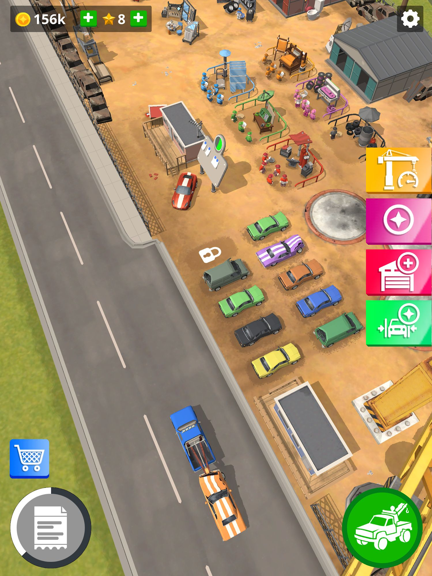 Scrapyard Tycoon Idle Game para Android