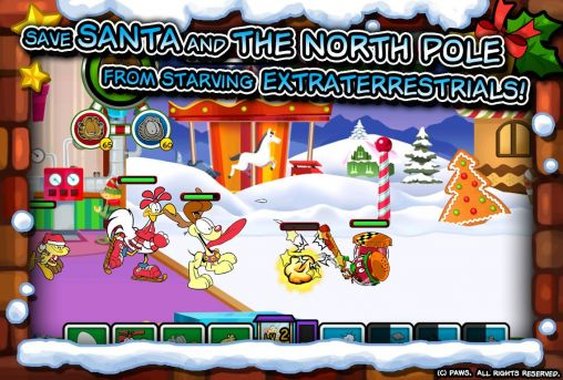 Garfield saves the holidays Screenshot