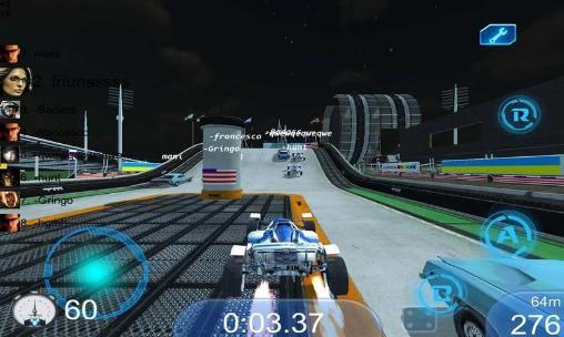 Track racing online Screenshot