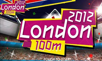 London 2012 100m Screenshot