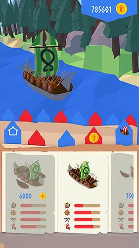 Arcade Viking sail für das Smartphone