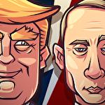 Vote blitz! Clicker arcade and idle politics game Symbol