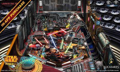 Juegos de arcade Star Wars Pinball para teléfono inteligente
