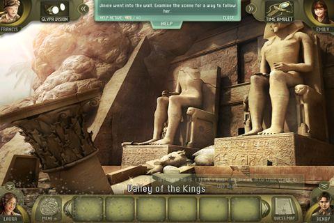 Screenshot Flucht aus dem Verlorenen Königreich auf dem iPhone