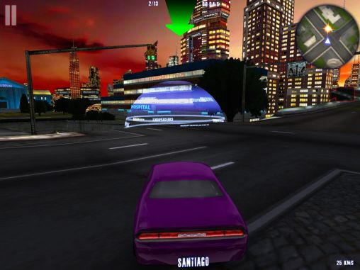 Midtown crazy race для Android