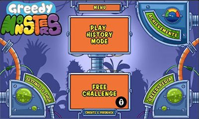 d'arcade Greedy Monsters pour smartphone